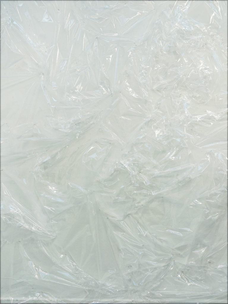 Giuseppina Giordano, untitled, 2018 plastic wrap / environmental dimensions