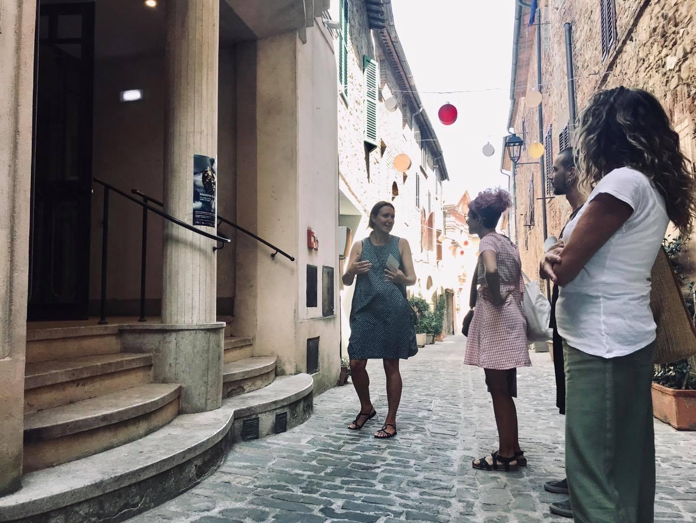 Ritratti di Città (City portraits), public art project, Radicondoli, Italy 2020/2022